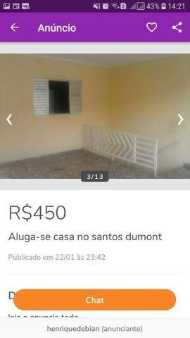 Aluga-se casa no santos Dumont - Foto 4