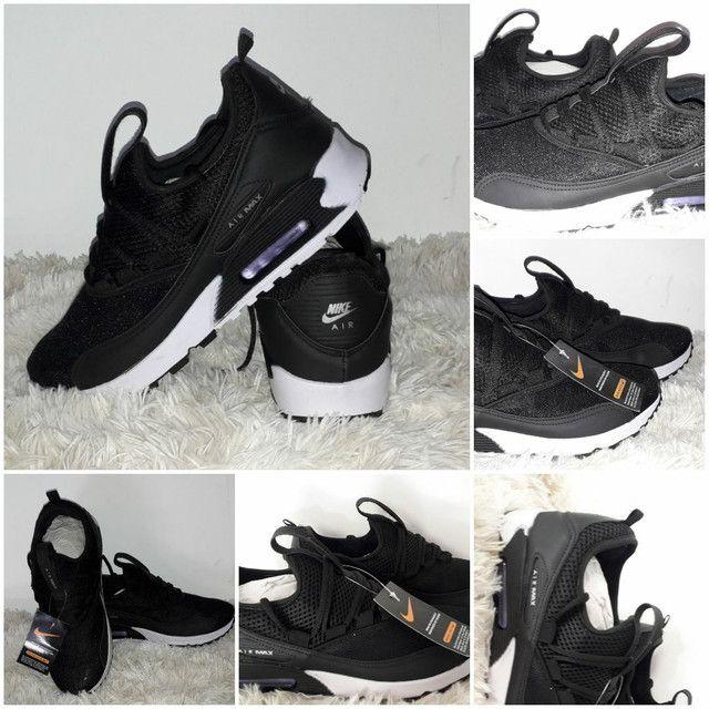 9 8 6 0 0 - 1 0 2 1 * Tênis Nike Air Max novo na caixa cor azul ou  preto - Foto 2