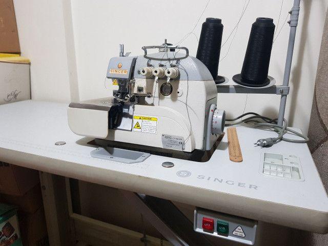 Máquina de Costura Overlock Singer Direct Drive Bivolt - 3 Fios - Foto 6