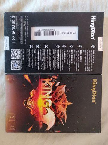 SeM EsToQuE* SSD KingDian 120 Gb Novo Original Pronta Entrega - Foto 3