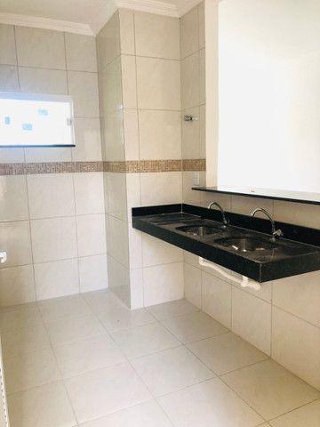 WS casa nova com 3 quartos,2 banheiros,coz.americana,quintal com otima localização - Foto 8