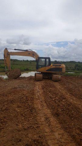 escavadeira 315 DL ano 2008     - Foto 3