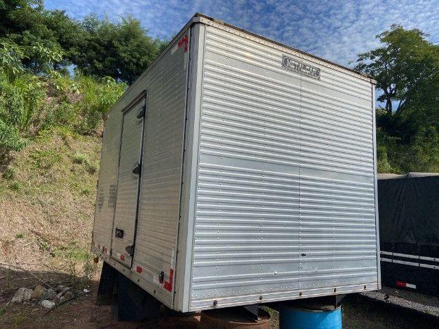 Baú para caminhão 3/4 3,50m fs caminhoes - Foto 3