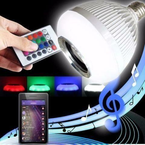 Lampada Musical com Bluetooth e Controle Remoto - Foto 3