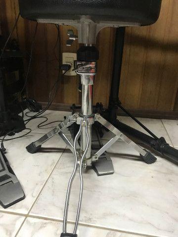 Bateria Eletrônica Shelter std82 + Caixa + Banqueta - Foto 6