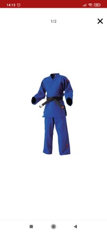 Kimono Kusakura Jnex Azul com selo