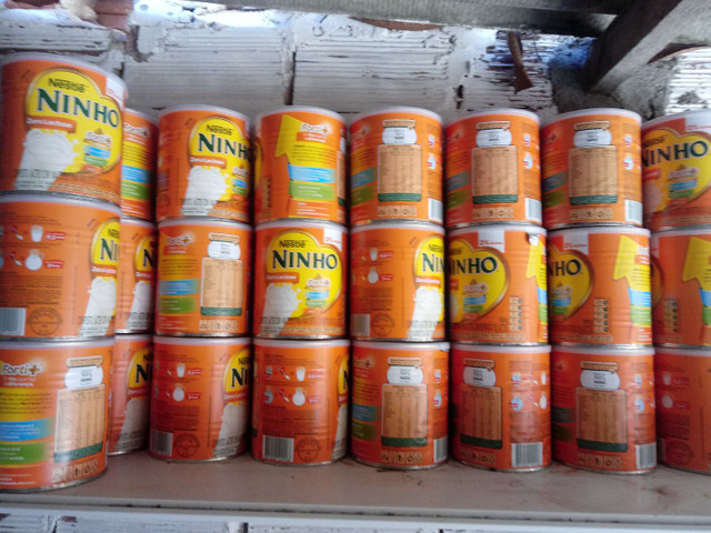 Latas de leite ninho vazias  - Foto 2