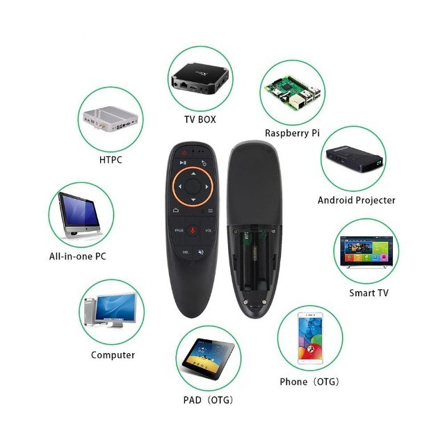 AIR Mouse / Controle Remoto USB Sem Fio Para TV Box Android / PC / Notebook - Foto 4