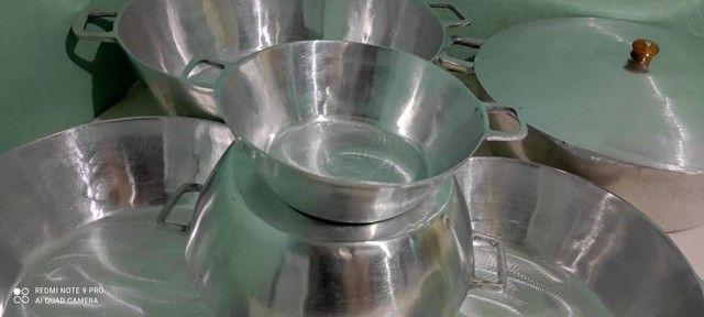Tachos de alumínio batido tamanhos e valores diferenciados  - Foto 4