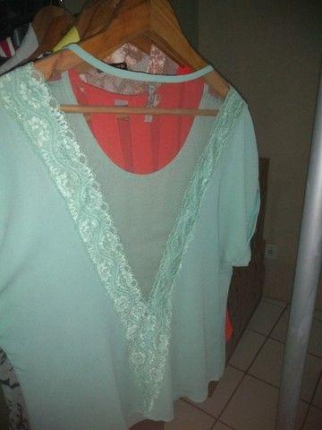 Blusa Verde Tamanho G - Foto 2