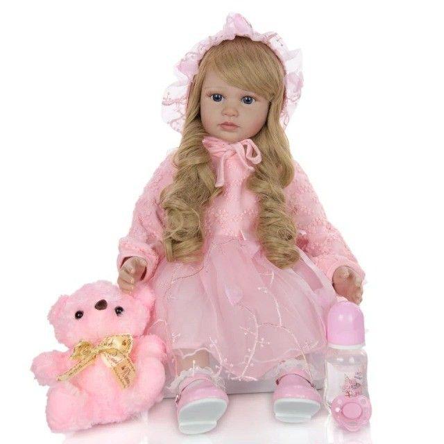 Boneca Bebê Reborn 60cm