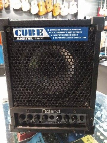 Monitor Amplificado Roland Cm-30 usado (Mixer Instrumentos Musicais) - Foto 2