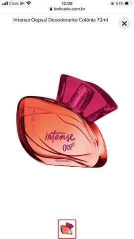 Perfume boticario Intense Oopss!  70m