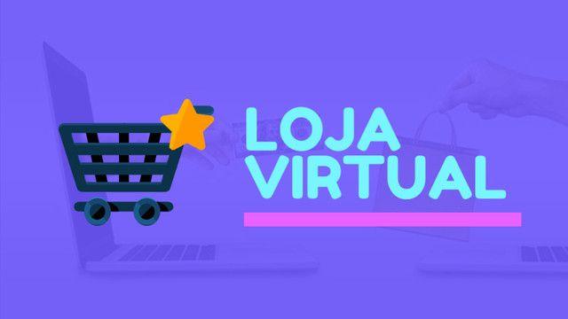 Crie sua loja virtual ou site com o menor PREÇO do Brasil! (Leia a descrição)