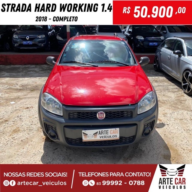 Strada hard working 1.4 completo 2018!! - Foto 6