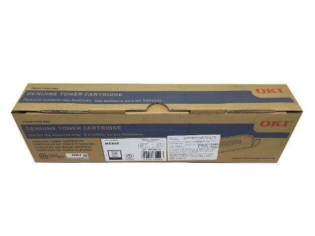 Toner Okidata MC860 / 44059216 Black Original Novo