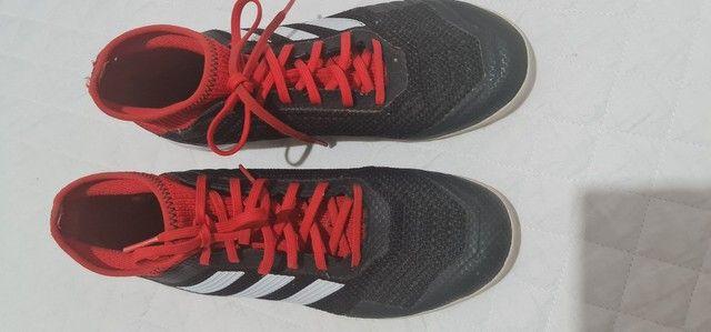 Chuteira Adidas futsal tam 38