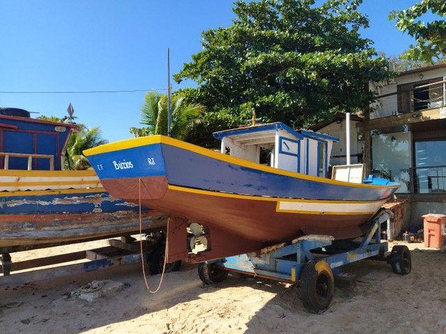 Casco traineira barco - Foto 5