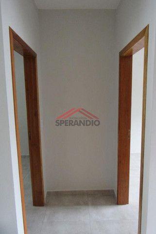 ? Casa nova c/ 2 quartos, ótimo padrão de acabamento R$139.500,00 - Baln. Brandalize - Foto 9