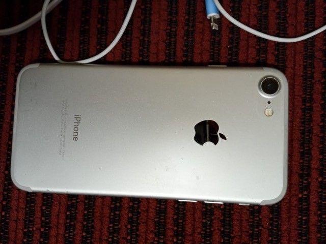 Troco iPhone 7 32g por redmi note 9 - Foto 2