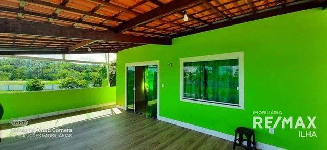 2 Casas com 5 dormitórios à venda, 250 m² por R$ 370.000 - Barra Grande - Vera Cruz/BA - Foto 5