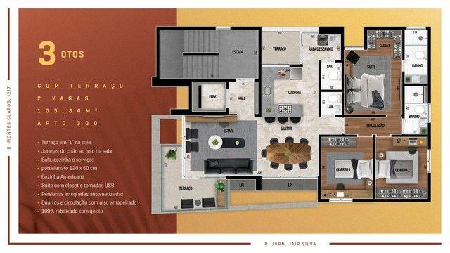 Apartamento para venda possui 114 metros quadrados com 3 quartos em Anchieta - Belo Horizo - Foto 11