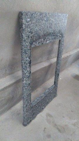 Pedra granito  fogão cooktop 5 bocas - Foto 2