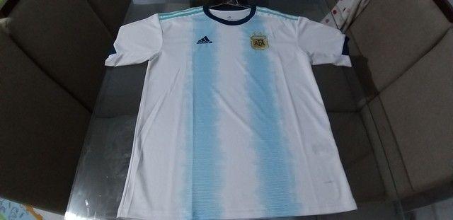 Camisa da Argentina adiadas muito top zaAlexsandro camisa tailandesa