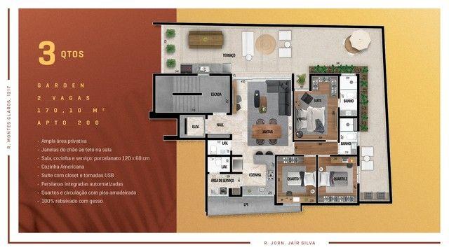 Apartamento para venda possui 114 metros quadrados com 3 quartos em Anchieta - Belo Horizo - Foto 10