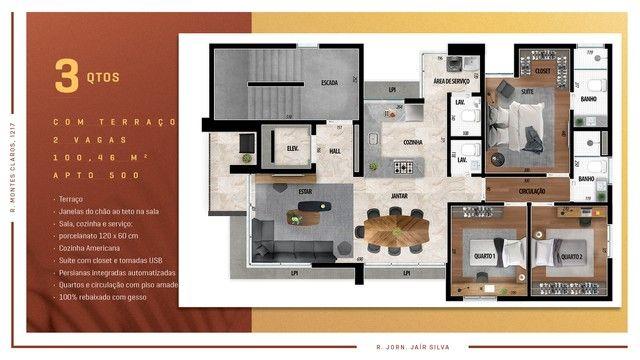 Apartamento para venda possui 114 metros quadrados com 3 quartos em Anchieta - Belo Horizo - Foto 14