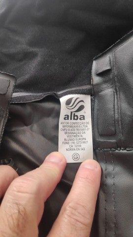Capa de Chuva Alba Europa para Motociclista - Impermeável - 03 Bolsos - Tam. G - Foto 2
