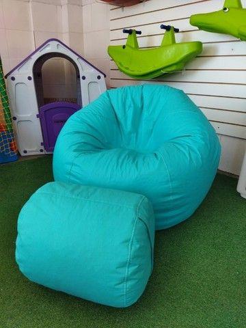 Leve conforto, inovação e praticidade pro seu lar - Puff, pufi, pufe - Foto 3