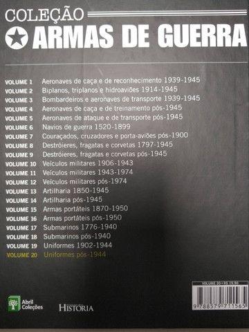 Coleção completa Armas de Guerra + Brinde - Foto 3