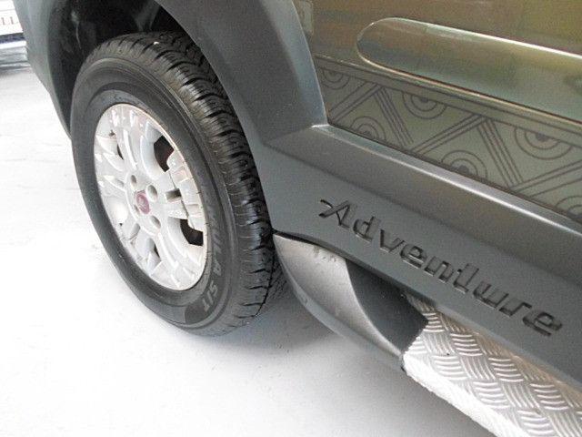 Fiat - Doblo Adventure Xingu 2013 Verde 6 Lugares Completo - Foto 13
