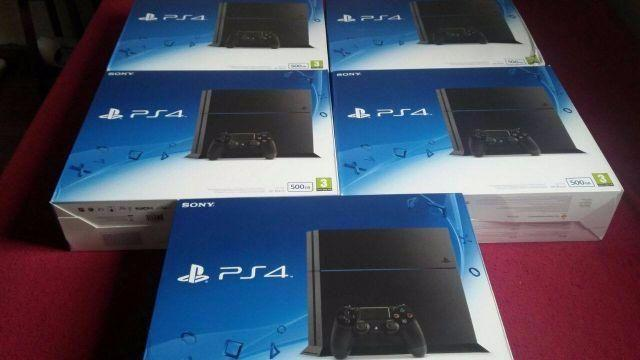Playstation 4 - 500gb - Novo Modelo SLIM +jogos