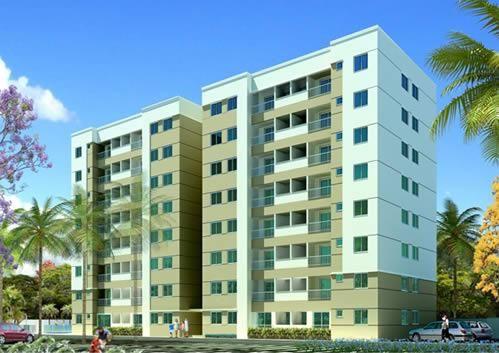 Apatamento no Condominio Residencial Sevilha Clube - Bairro Jardim Atlantico - Jacaraipe