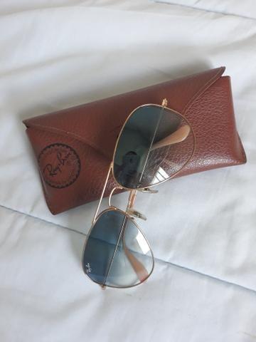 05f4eafb5b450 Óculos rayban aviador original - Bijouterias, relógios e acessórios ...
