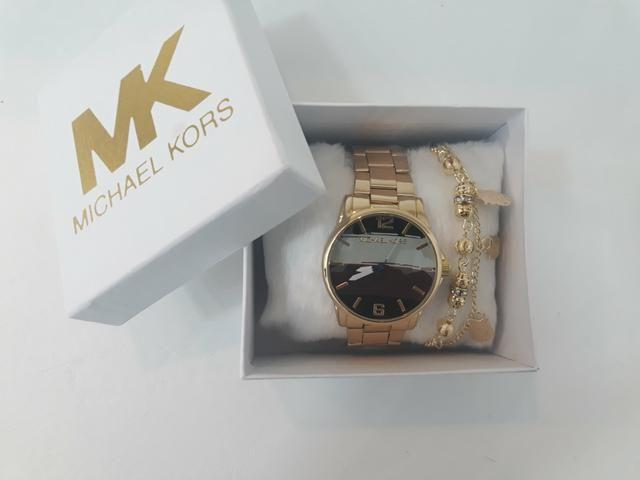 Relógio Michael Kors (kit c  pulseira) - Bijouterias, relógios e ... 111c13d678