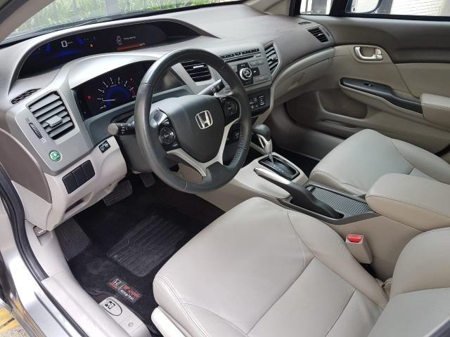 Civic LXL automatico 2013 Blindado Nivel IIIA - Foto 14
