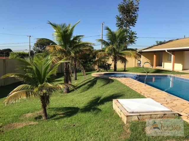 Chácara com 6 dormitórios para alugar, 1354 m² por r$ 5.000,00/mês - chácara recreio alvor - Foto 14