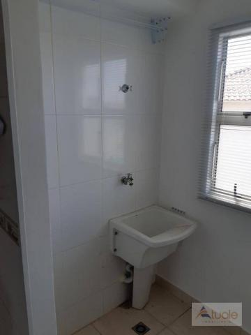Apartamento com 2 dormitórios para alugar, 46 m² por r$ 1.050,00/mês - parque villa flores - Foto 4