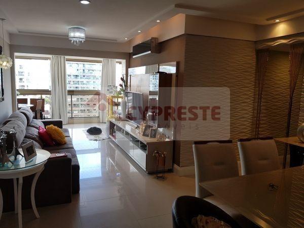 Apartamento à venda com 4 dormitórios em Praia da costa, Vila velha cod:10746 - Foto 5