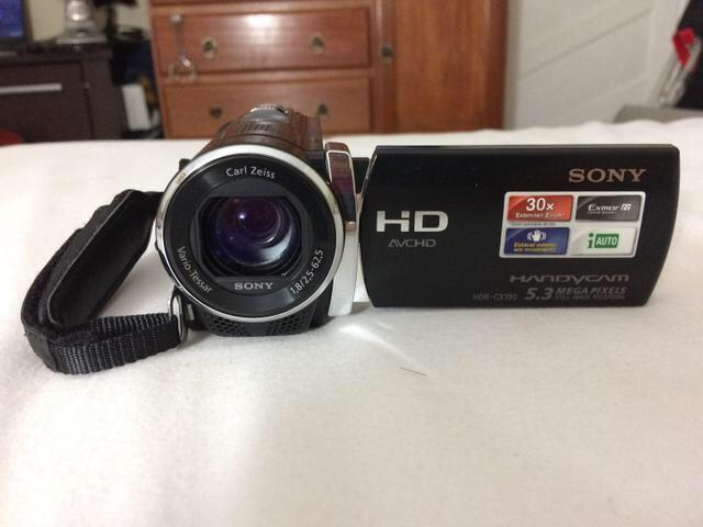 SONY HDR CX190 DRIVERS PC