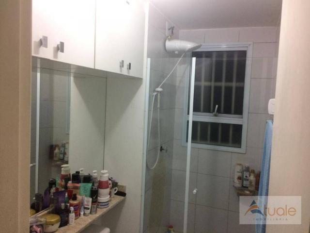 Apartamento com 3 dormitórios à venda, 50 m² - condomínio pitangueiras - hortolândia/sp - Foto 14