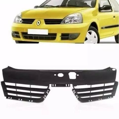 Grade Preta Radiador Renault Clio 2006 2007 2008 A 2011 2012