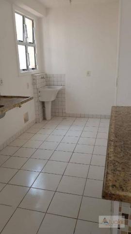 Apartamento com 3 dormitórios à venda, 63 m² - Villa Flora Hortolandia - Hortolândia/SP - Foto 5