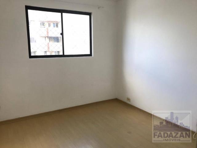 Apartamento para alugar, 87 m² por R$ 1.200,00/mês - Cristo Rei - Curitiba/PR - Foto 12