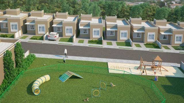 Casas c/ 3 quartos em condomínio fechado, 190 mil - Últimas unidades! - Foto 4