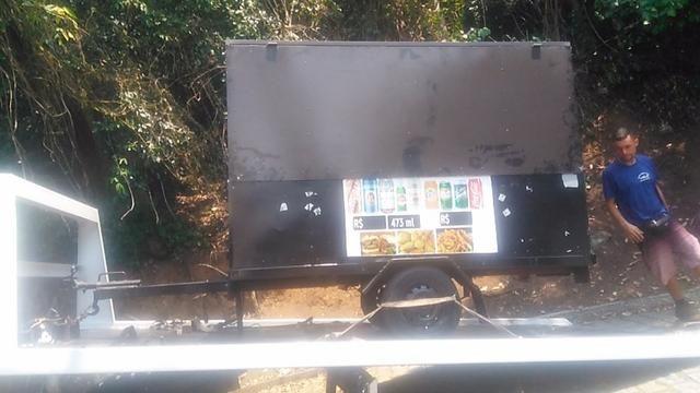 Vendo Treiler Food Truck