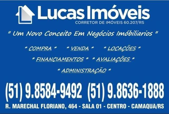 Lucas Imóveis ( # V.E.N.D.E # ) Excelente Casa em Bairro Nobre Na Cidade de Camaquã !! - Foto 2